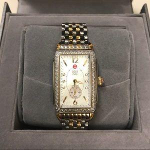 Michele Diamond Deco Watch